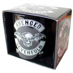 Avenged Sevenfold Taza Deathbat Biker