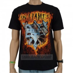 In Flames Playera Devil Tour 2009