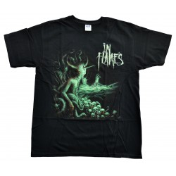 In Flames Playera Jester Tour 2011