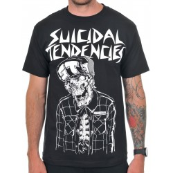 Suicidal Tendencies x Metal Mulisha Skeleton Shirt