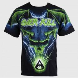 Overkill Blue Batwing Skull AO Shirt