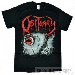 Obituary Playera Cause of Death con Espalda