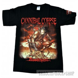 Canibal Corpse Playera Summer Tour Logo