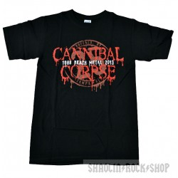 Canibal Corpse Playera 1988 - 2013