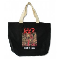 Slayer Reign In Blood  Tote Bag