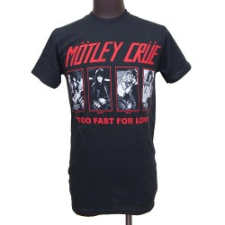 Motley Crue Playera Too Fast For Love 81