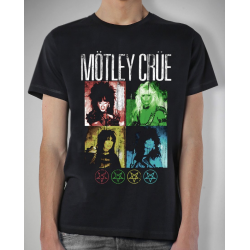 Motley Crue Playera Shout At The Devil Vintage