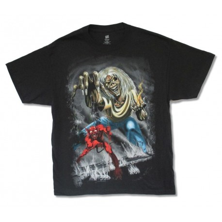 Iron Maiden Playera The Number of the Beast Tour 2012