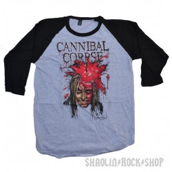 Cannibal Corpse High Velocity Impact Spatter Raglan Shirt