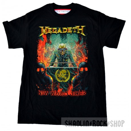 Megadeth Playera New World Order