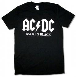 AC/DC Playera Back In Black / Rock or Burst 2016