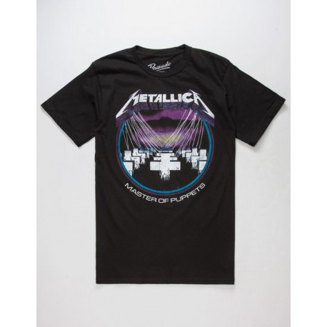 Metallica Playera Master Of Puppets Charcoal