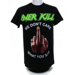 Overkill Playera We Dont Care