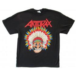 Anthrax Shirt Indians