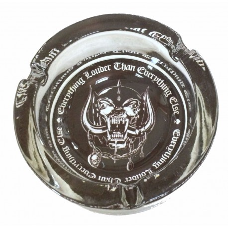 Motorhead Cenicero Ashtray Louder