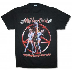 Motley Crue Playera Dr. Feelgood Final Tour