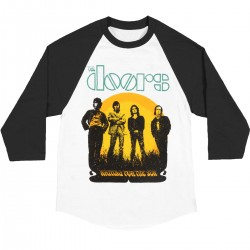 The Doors Playera Raglan Waiting for the Sun Tour
