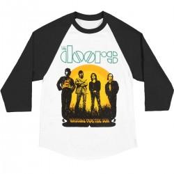 The Doors Raglan Shirt  Waiting for the Sun Tour