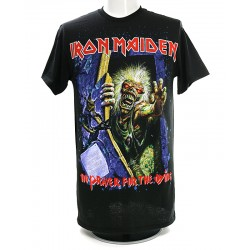 Iron Maiden Playera No Prayer Splatter