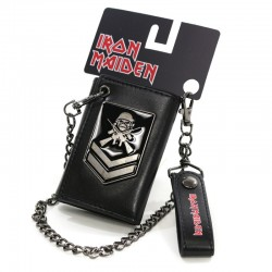 Iron Maiden Cartera A Matter Of Life And Death Badge