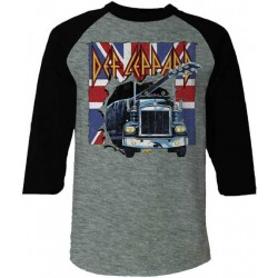 Def Leppard Shirt On Through The Night Raglan