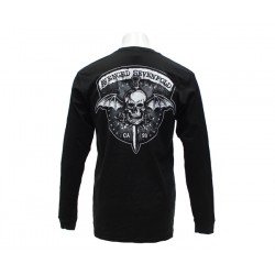 Avenged Sevenfold Playera Biker Bat LS