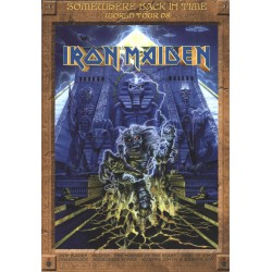Iron Maiden Somewhere Back In Time Tourbook Postergram