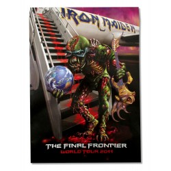 Iron Maiden The Final Frontier 2011 Tourbook Postergram