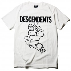 Descendents x Santa Cruz Playera Screaming Milo