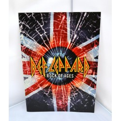 Def Leppard Tourbook Rock Of Ages 2005