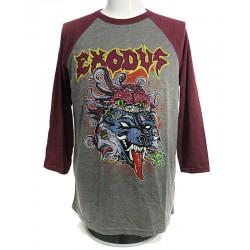Exodus Shirt  Toxic Wolf Raglan