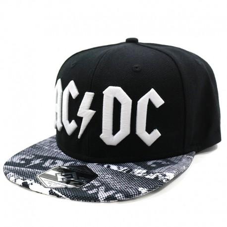 AC/DC Sublimated BW Cap