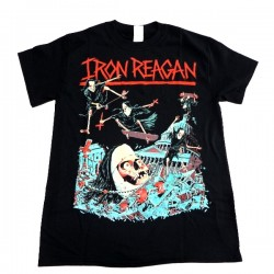 Iron Reagan Shirt Skate Nun