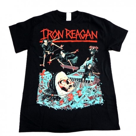 Iron Reagan Shirt  Crossover Ministry