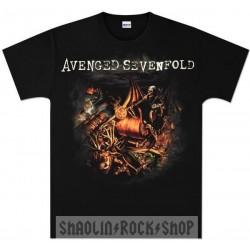 Avenged Sevenfold Playera Dear God Ao