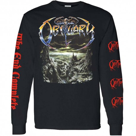 Obituary Shirt The End Complete LS