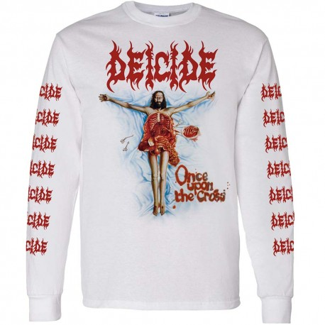 Deicide Shirt Once Upon The Cross LS