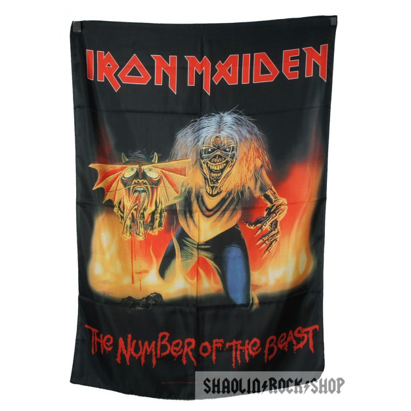 Iron Maiden Number Of The Beast Single Iron Maiden Poster The...