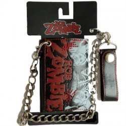 Rob Zombie Cartera Red Stitches