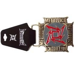 Metallica Hebilla Ninja Star