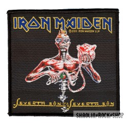 Iron Maiden Parche Seventh Son Of A Seventh Son