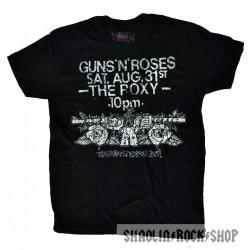 Guns N' Roses Playera The Roxy
