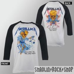 Metallica Playera Raglan Doris