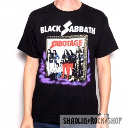 Black Sabbath Playera World Tour 77