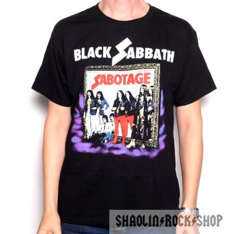 Black Sabbath Playera World Tour 77