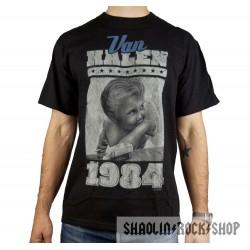 Van Halen Playera 1984 Navy