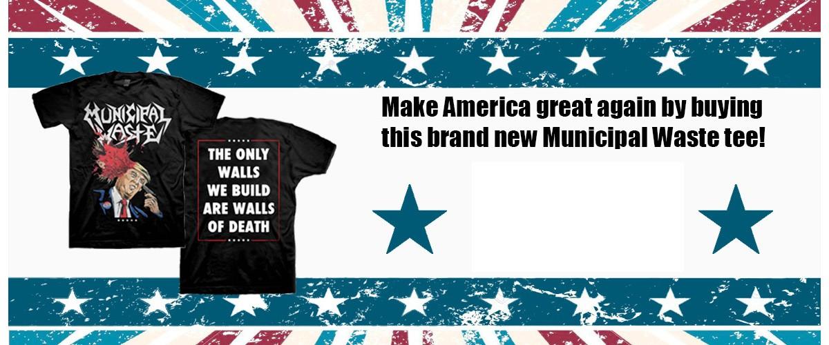 Municipal Waste Donald Shirt